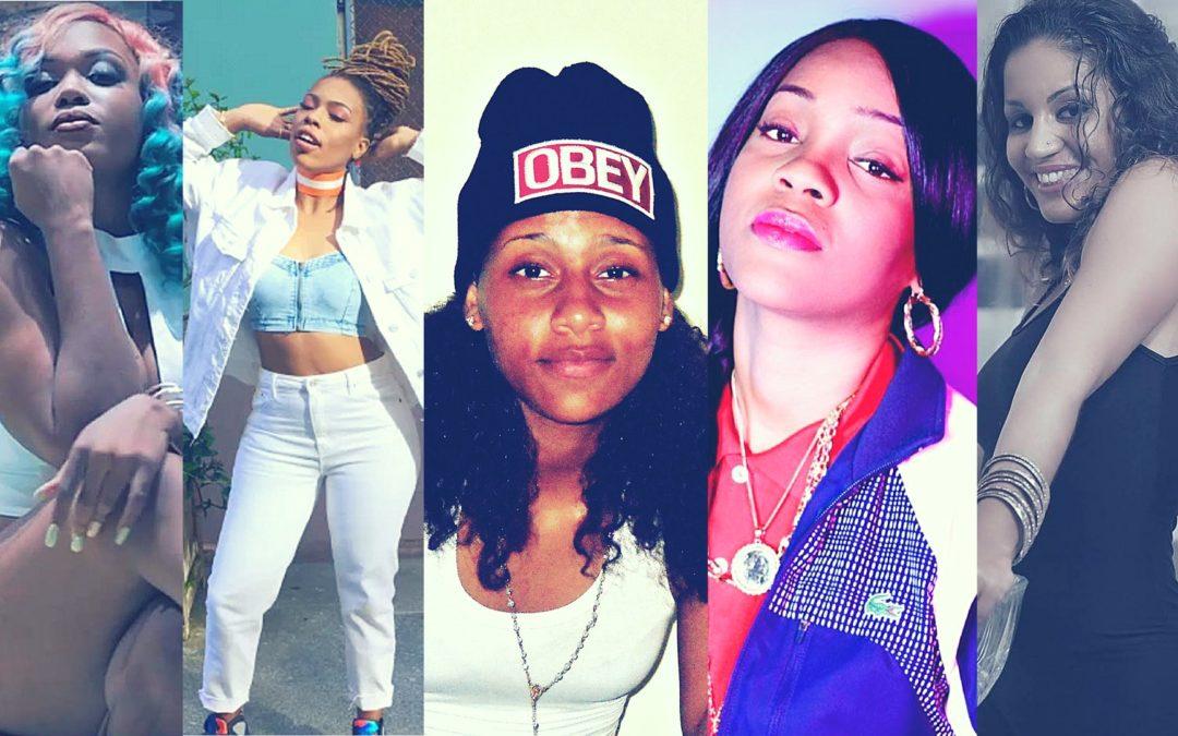 5 artistes féminines qui bousculent le rap game antillais !