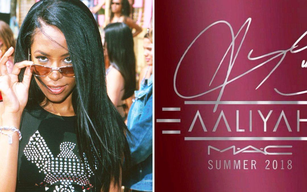 MAC annonce la sortie d'une collection Make-up inspirée d'Aaliyah