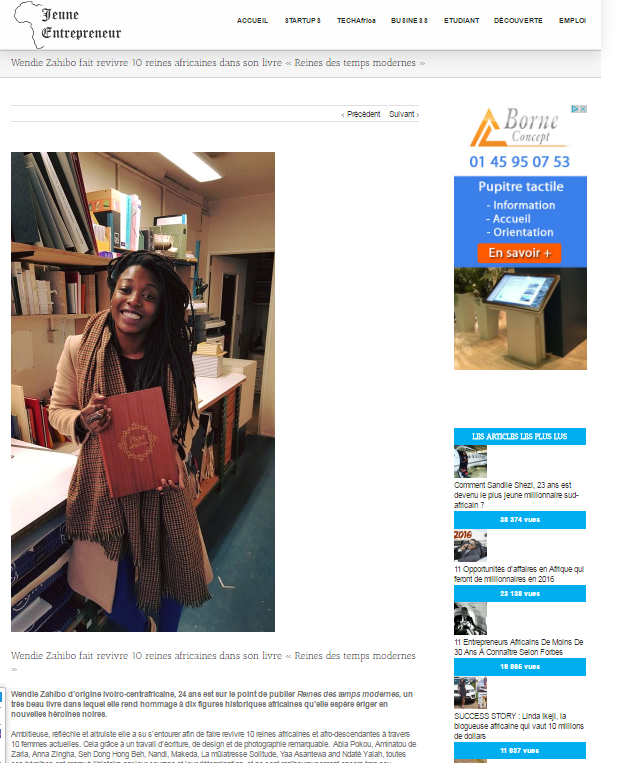 Afrique Jeune Entrepreneur