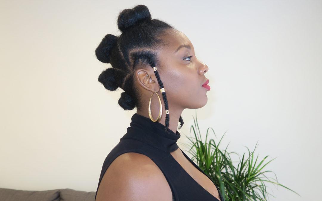 TUTO sur cheveux naturels