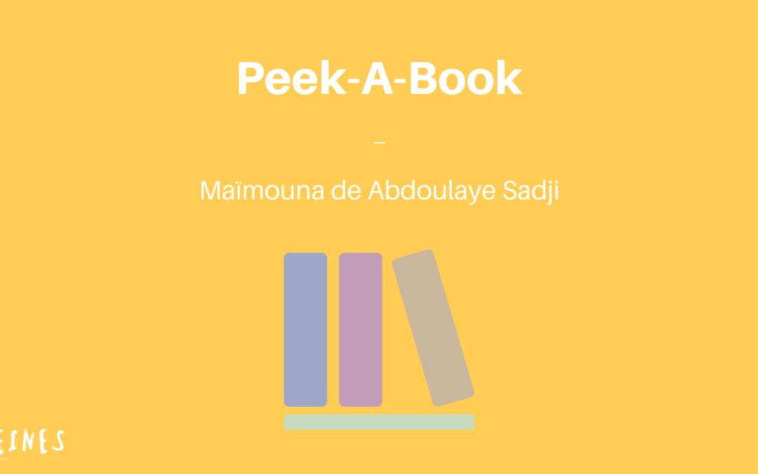 CONSEIL LECTURE | Maïmouna d'Abdoulaye Sadji